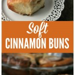Soft Cinnamon Buns {From Refrigerator Dough}