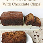 Gluten-Free Banana Bread {With Chocolate Chips}