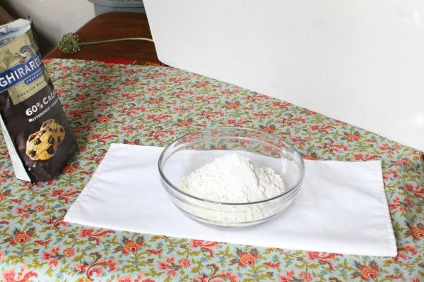 tortilla set up