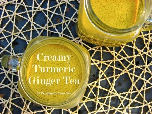 Creamy Turmeric Ginger Tea