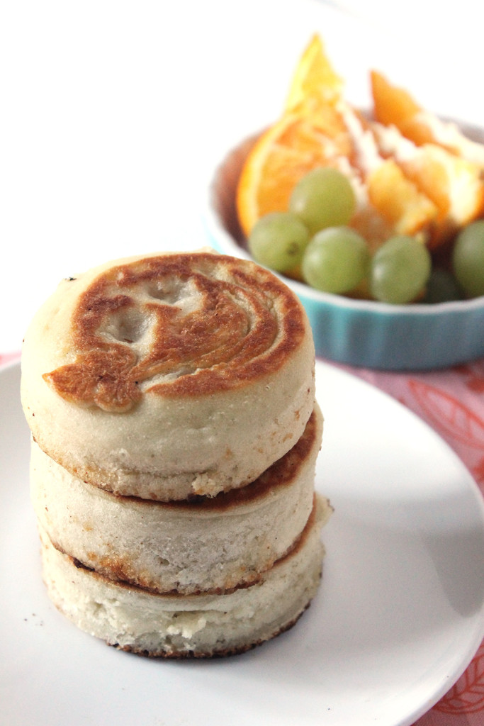 Homemade English Muffins | Ten at the Table | http://tenatthetable.com