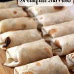 Perfect Breakfast Burritos {Freezer-Friendly}