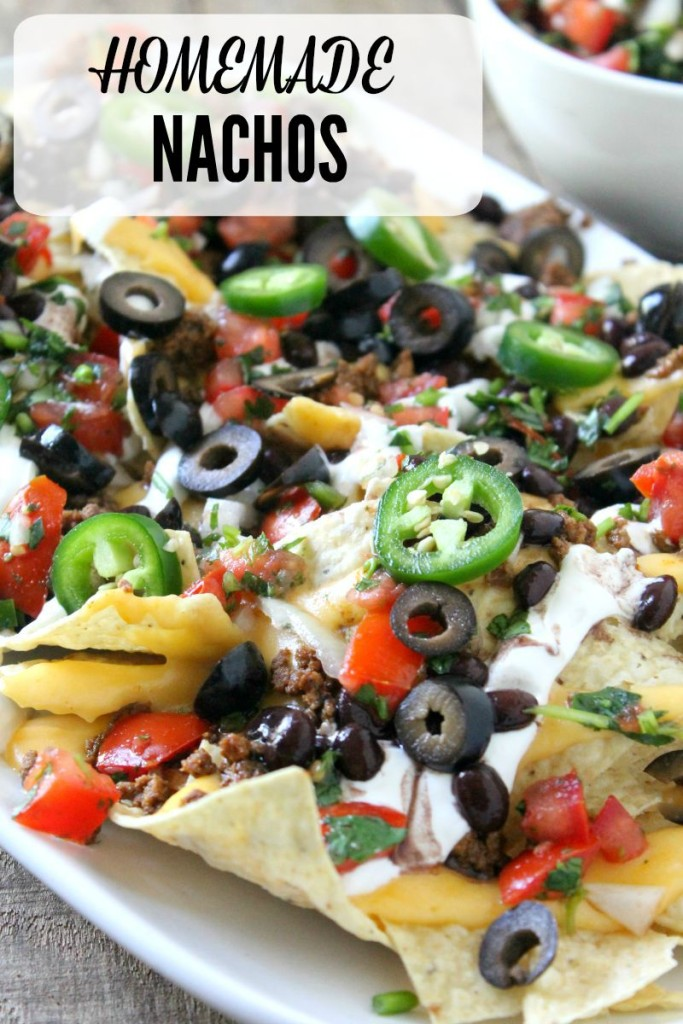 These homemade nachos just might become your new best friend but be sure to share them with the ones you love!