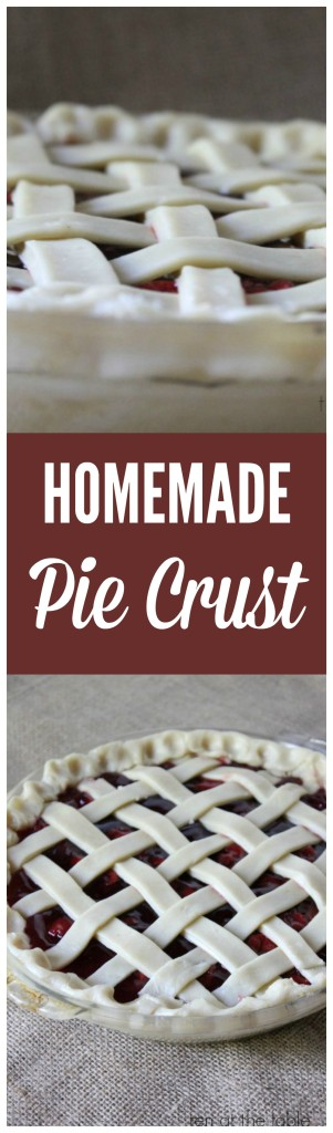homemade pie crust recipe 3