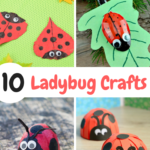 10 Adorable and Fun Ladybug Crafts For Kids
