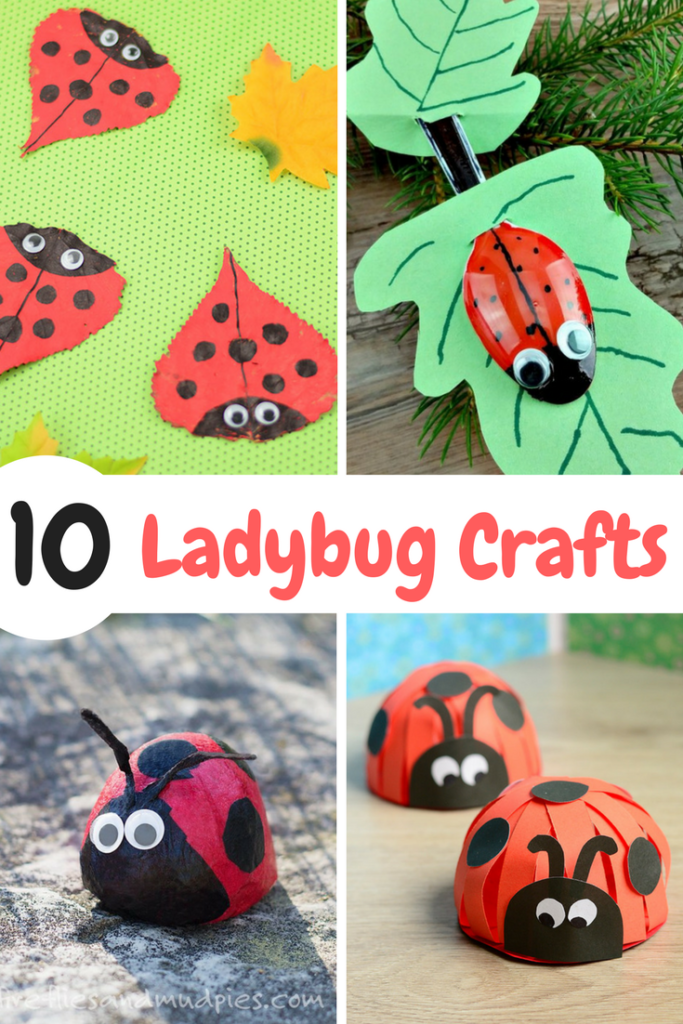 10 Adorable And Fun Ladybug Crafts For Kids Ten At The Table
