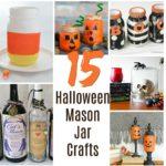15 Halloween Mason Jars