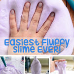 DIY Easy Fluffy Slime {Step by Step}