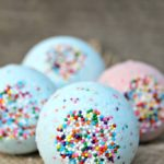Relaxing Cotton Candy Bath Bombs