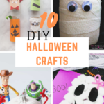 10 DIY Halloween Kids Crafts