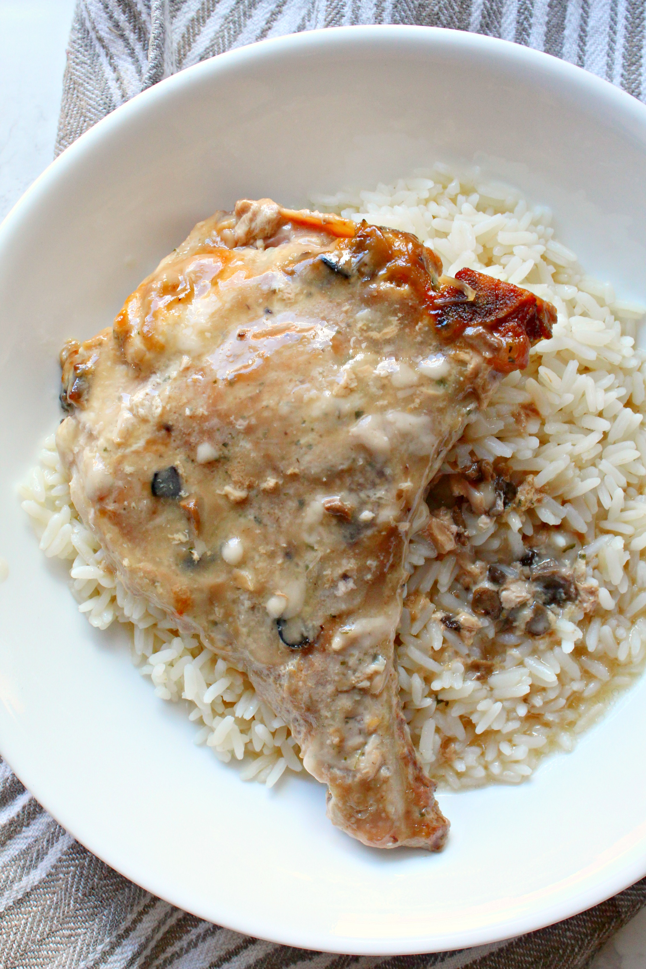 3-Ingredient Slow Cooker Pork Chops